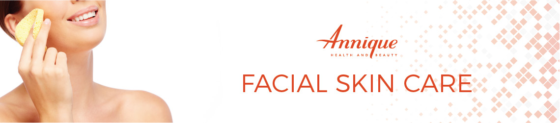 Facial Skin Care Product Banner