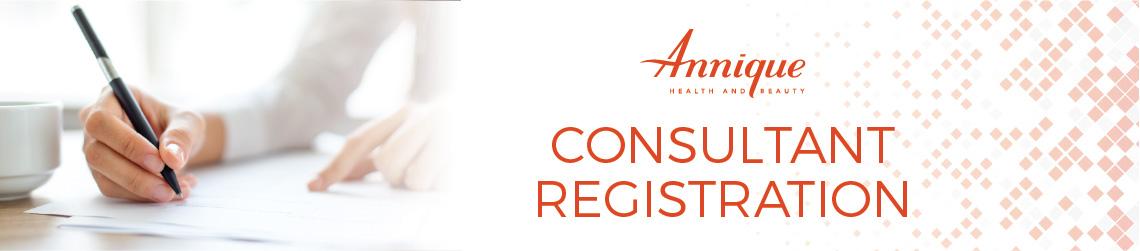 Consultant Registration