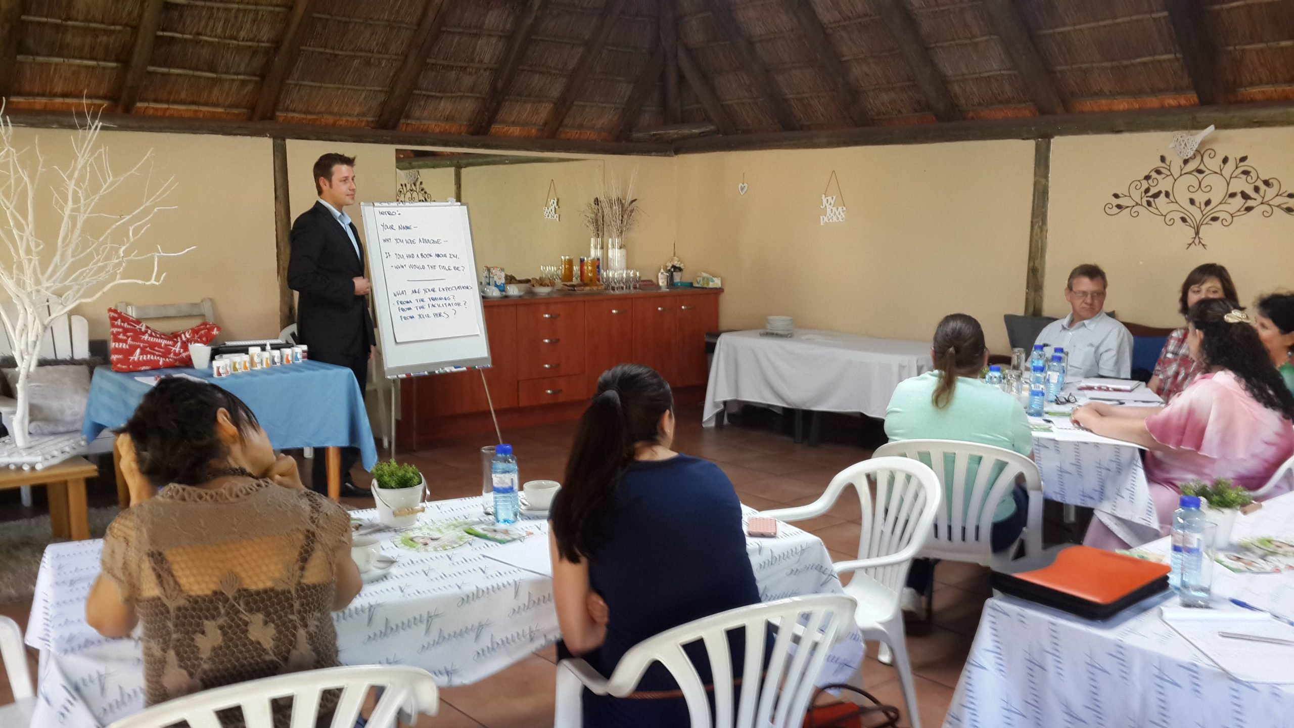 Consultants receive certificates of competence for Nutrition training